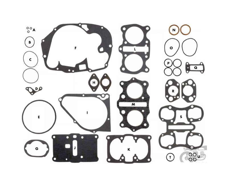 honda cb360 exhaust with Honda 350 Gaskets Kit on Honda Cb 125 T Wiring Diagram further 348044 Honda Cl360 Exhaust in addition Honda 450 Oil Change Gaskets moreover Honda Cb 250 Exhaust Diagram as well Honda Cb350 Carb Rebuild Kit.