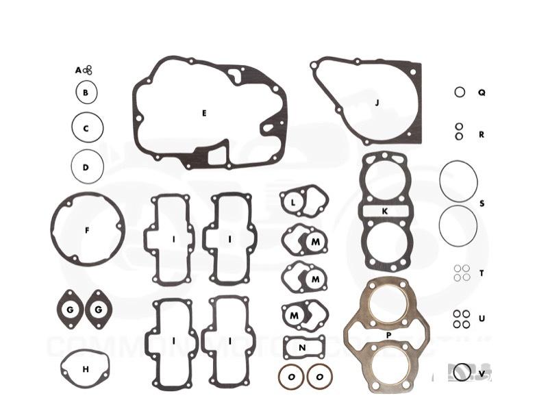 honda cb360 engine with Honda 450 500 Gasket Kit on Honda 450 500 Gasket Kit also Honda Cb360 Brake Hose as well 12191369306 Gasketcylinder 12191369000 likewise Gy6 Voltage Regulator Wiring Diagram besides F  03.