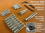 Honda CL / CB450 / CB500T Allen Bolt Kit