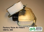 Honda CB350 Air Filter - Factory Style Right