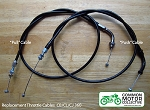 Honda CL / CJ / CB360 Throttle Cable Kit