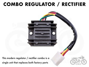 Honda Rectifier / Regulator CB350 / CB360 / CB450 / CB500T ...