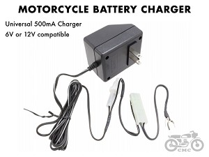 Honda Motorcycle Battery Charger