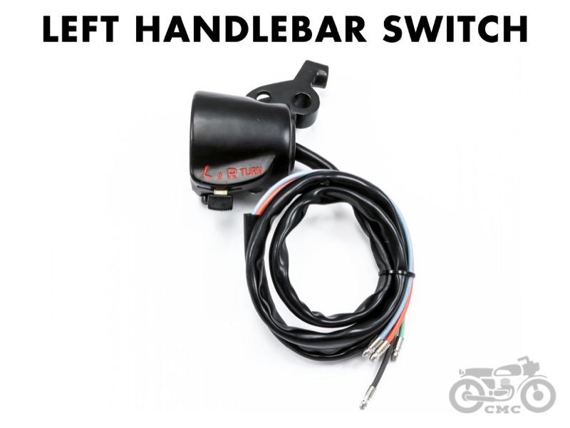Honda Cb350    Cb450 Left Handlebar Switch Box