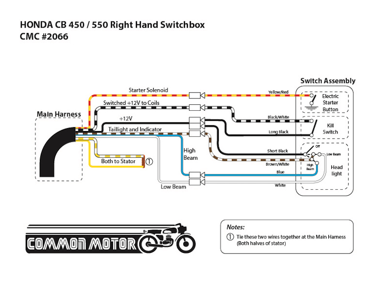 1975 cb550f wiring diagram