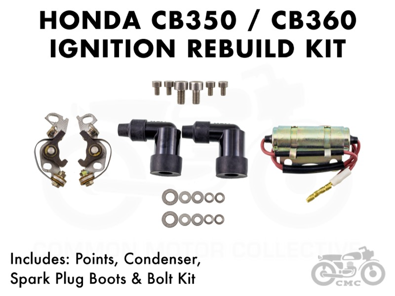 Honda CB350 / CB360 Ignition Rebuild Kit