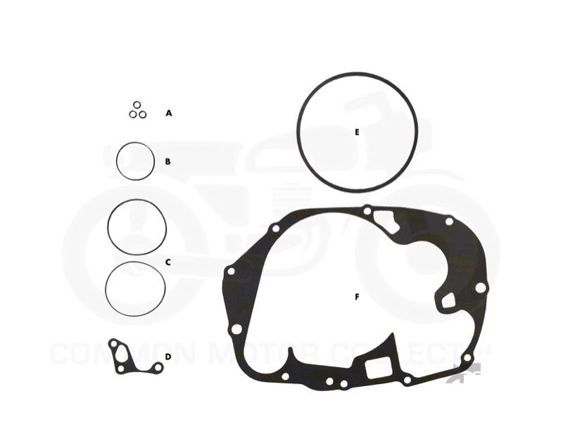 honda cb350    cl350    sl350 oil change gasket kit