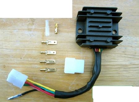 XL175 MT250 NEW Rectifier For Honda CB350 CL350 SL350 CB360 CB450 CB500T Twins