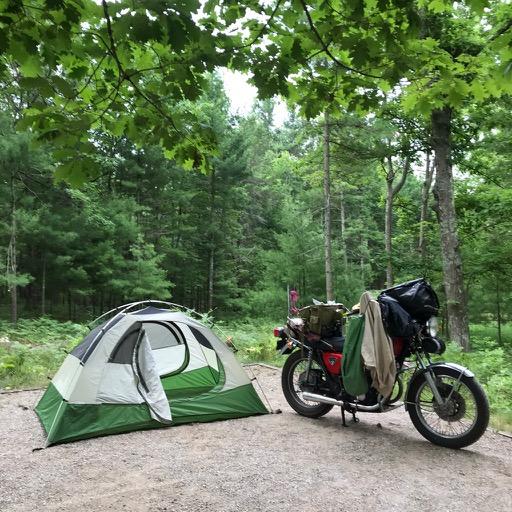 Glen Arbor MI Campsite