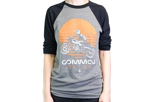 Common Motor 3/4 Sleeve  Shirt