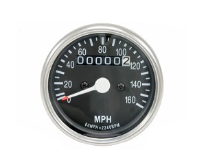 Honda CB350 / CB360 / CB450 Speedometer (Chrome)