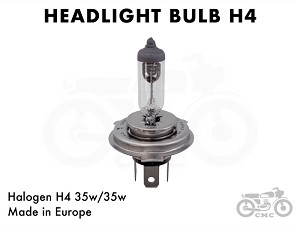 Honda Headlight Halogen H4 35w/35w Replacement Bulb