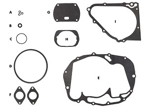 Honda CL / CJ / CB360 Gasket Kit: Service