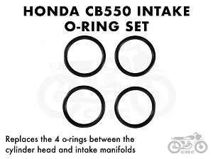 Honda CB550K / CB550F Intake port O-ring set