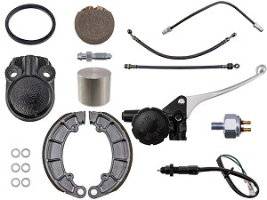Honda CB450 / CB550 Brake Overhaul Bundle